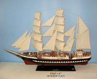 ship model , wooden ship model, vessel, marine products