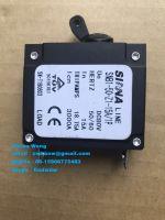 Miniature Hydraulic Magnetic Circuit Breaker DC AC 1 Pole MCB for Equipment, Marine, Generator 1-50A