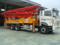 Concrete Pump Car