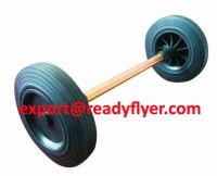Waste bin wheel and axle for 100L 120L 240L mobile garbage bin container