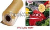 pvc pe cling wrapping film