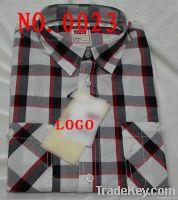 100% cotton mens casual shirt