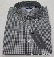 Men's plaid shirt Cotton Casual Shirt