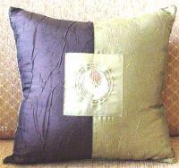 Handmade embroidery cushion cover