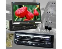 """7""""In Dash Fully Motorized Lcd Monitor With Dvd, Tv, Radio (DVM-9800)"""
