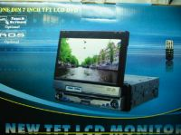 """7"""" In Dash Fully Motorized Lcd Touch-Screen Monitor with DVD/TV/FM,AM"""