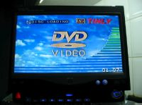 """7"""" In dash Fully Motorized LCD Monitor with DVD player/ TV and Radio"""