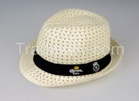 Promotion Paper Summer Fedora Straw Hat Cowboy