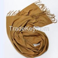 Cashmere Woven Winter Scarf  Merino Wool
