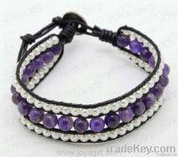 gemstone woven bracelet, woven gemstone bracelet, friendship bracelet