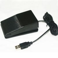Foot switch USB HID, FS1_p, plastic case, IR switch