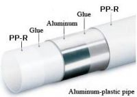 PPR stable pipe  PP-Al-PP  pipe ,composit pipes