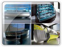 H&M Gelato Ice Cream Display Cases Showcases