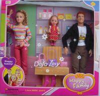 Happy Family Plastic Doll