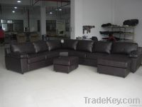 Synthetic Leather Incline Sofa Bed