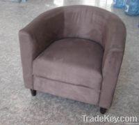 Fabric Ottoman Tub Chair