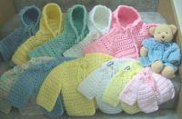 Handmade Baby Sweaters