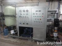 Sea water desalination equipment
