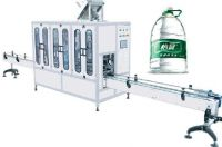 3-10L bottle water filling packing machine/washing filling capping machine