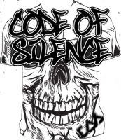 Code of Silence Skullnation Men's T-Shirt