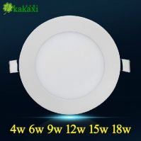 High quality 4w 6w 9w 12w 15w 18w 20w round ultra thin led panel lighting led screen Ceiling light indoor lighting