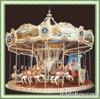 2011 hot selling amusement ride carousel (merry go round , roundabout)