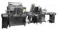 Automaic Liquid filling and capping machine