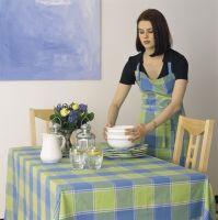 cotton  woven table cloths