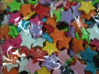Acrylic Beads, colorful, various shapes
