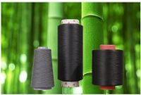 Bamboo charcoal fiber, yarns, nonwoven, filter sieve, and carbon product