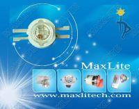 3W 4-pin RGB High Power LED