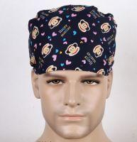 Surgical Scrub Hat Cap Medical Surgery Nurses Doctor Hat Work Hat
