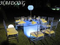 Clear Resin Chiavari Chair for event