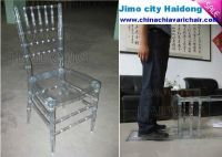 Crystal Chiavari Chair in Resin