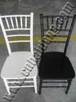 Resin Chiavari Chair in Any Colour