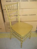 HDCV-R01 Resin Chiavari Chair in Gold Colour