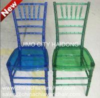 La chaise Chiavari Cystal Resin Chiavari Chairs/ Ice Tiffany Chair / Sillas tiffany