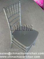 HDCV-R02 Resin Chiavari Chair in Marble Silver