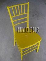 HDCV-R11 Resin Chiavari/Ballroom Chair in Amber