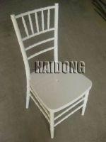 HDCV-R04 Resin Chiavari Chair in White
