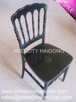 Polycarbonate PC resin Napoleon Chair-Black color