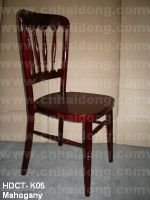 Mahogany Chateau Chair