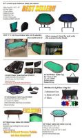 Poker Table/ Table top/ Poker chips