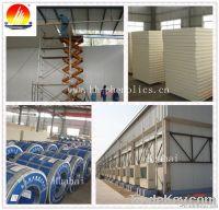 PU insulated cold storage panel