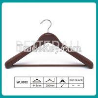 Top quality luxury coat wooden hanger