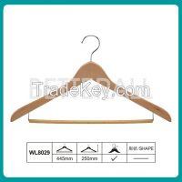 wooden cloth suit hanger