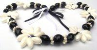 kukui nut w shell necklace