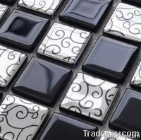 Glass Marble Metal Mixed Mosaics