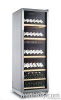 Compressor Cooling 168 Bottles Wine Cooler