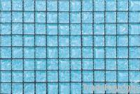 Blue Crystal Glass Mosaic